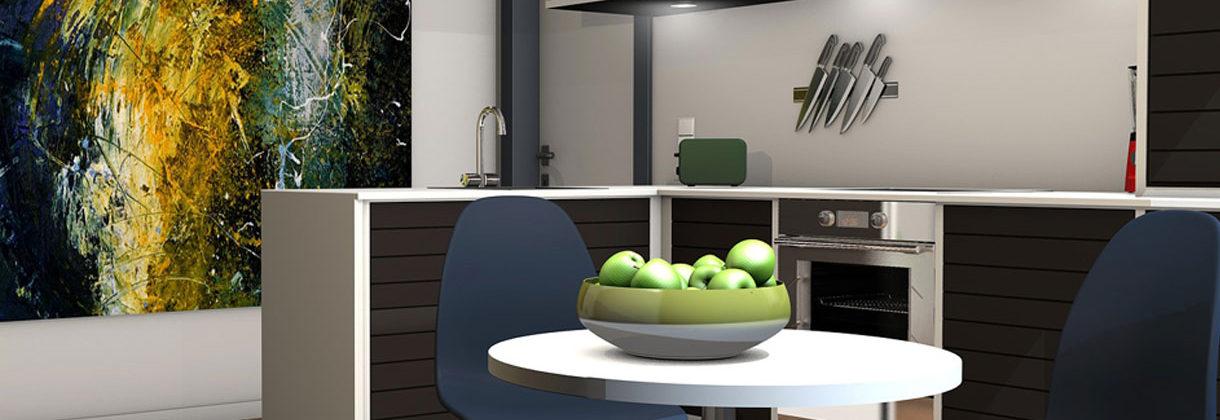 Projektowanie kuchni trendy 2019