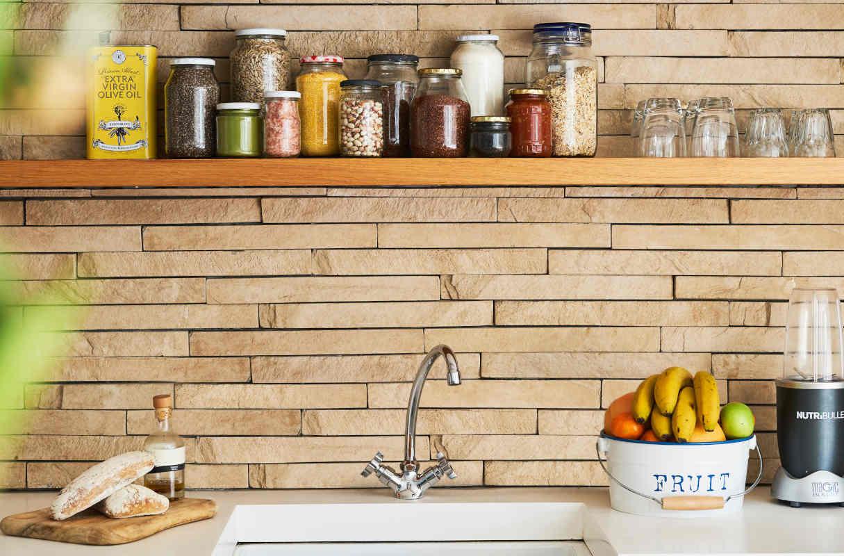 Co położyć na ścianę w kuchni